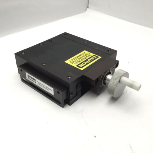 """4/"""" Stage Dimensions 6/"""" x 6/"""" Travel Parker 008-5233 linear Positioning Stage"""