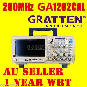 ATTEN-OSCILLOSCOPE-Scope-GA1202CAL-200MHz-2Ch-1GS-s-7-LCD-Screen-USB-METER-AU