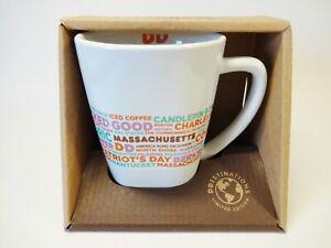 Unused Dunkin Donuts Destinations Mug Massachusetts 2016 Coffee Mug