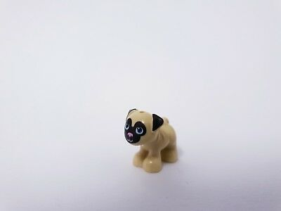 2 x Mops Lego Figuren Minifiguren Friends HUND Hundewelpen