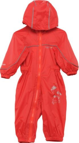 REGATTA PUDDLE III IV ALL IN ONE WATERPROOF SUIT CHILDRENS KIDS CHILDS BOYS GIRL