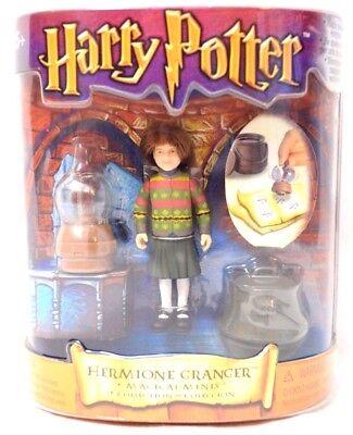 """Vtg 2001 <b>Harry Potter Hermione Granger</b> 3"""" Action Figure Doll ..."""