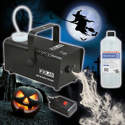 Halloween Party Haunted House Ghost 400W Black Smoke Fog ...