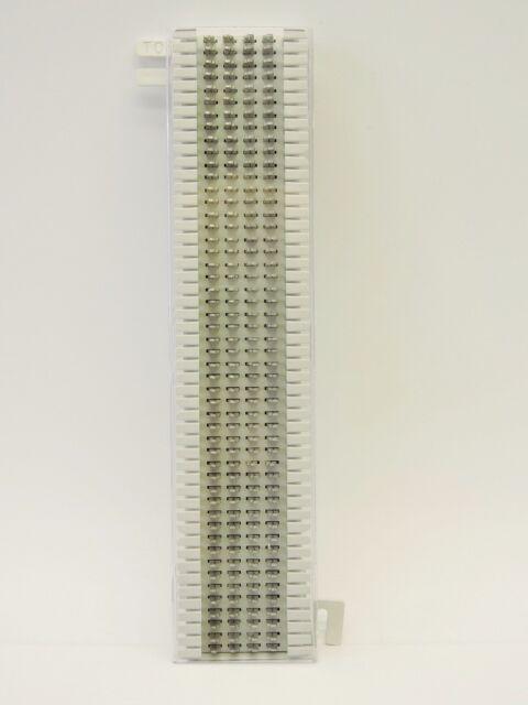 siemon cat5 66m1 50 punch block with 89d mounting bracket ebay rh ebay com Telephone Connection Block 110 Block