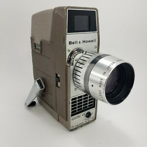 Vintage Bell & Howell Electric Eye 8MM perpetua Movie Camera Antique camera wind