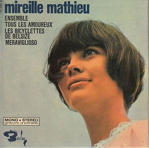 45TRS-VINYL-7-039-039-FRENCH-EP-BARCLAY-MIREILLE-MATHIEU-MERAVIGLIOSO-3