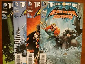 DC-COMICS-THE-NEW-52-BATMAN-AND-ROBIN-VARIOUS-ISSUES