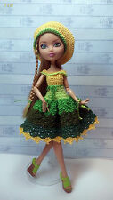 Dress for Ever After High doll. Clothes for Ever After High. Crochet clothes.