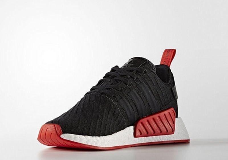 New Adidas NMD R2 PK shoes, Black ,size 11.5 11.5 11.5 b16598