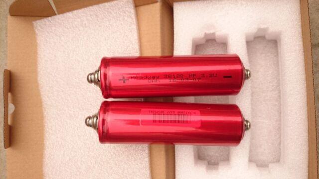 16 pcs 3.2V 8AH 38120 HP LIFEPO4 CELL perfect performance grade A
