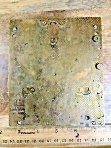 Junghans W 278 / 201 Clock Movement Back Plate (K5556)