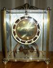 Vintage Forestville Art Deco Brass Anniversary Clock
