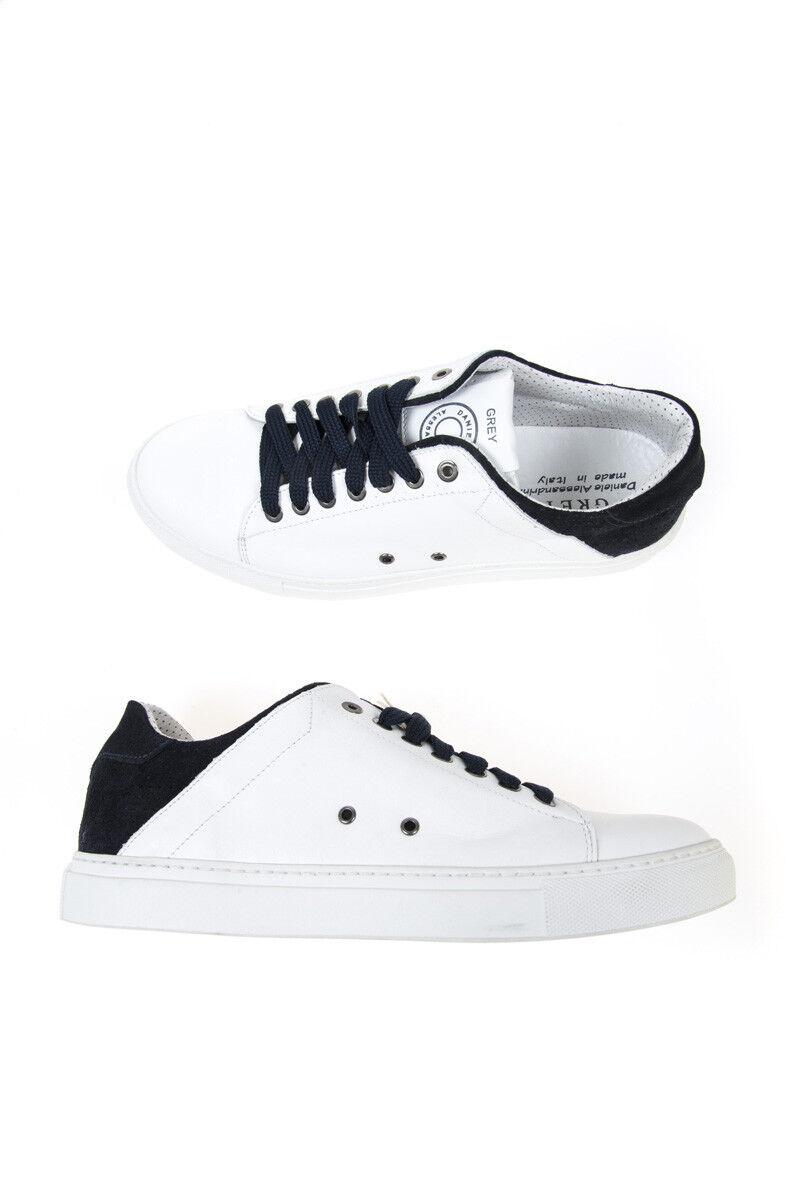 shoes Sneaker Daniele Alessandrini shoes Pelle men Bianco F7150KL4403600 223