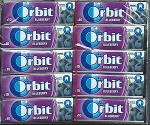 Details about 30x Wrigleys Orbit Blueberry Chewing Gum Full 30 pack 300 pcs