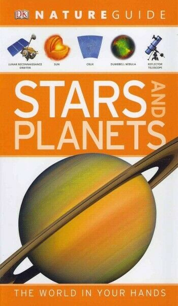 Nature Guide Stars and Planets : The World in Your Hands, Hardcover by Dinwid...