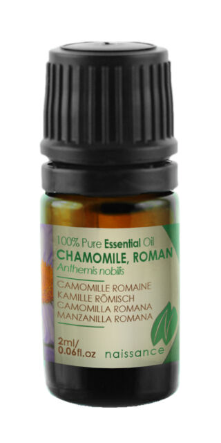 Naissance Chamomile Roman Essential Oil 2ml 100% Pure & Natural Aromatherapy