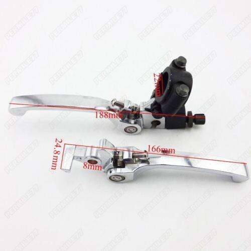 Folding Brake Clutch Lever For Chinese 110cc 125cc 140cc CRF50 SSR Dirt Pit Bike