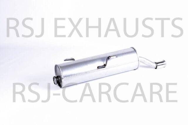 Klarius 2E//K Exhaust Rear Back Box Peugeot 206 SW PG710D