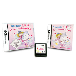 Nintendo-Jeu-DS-Prinzessin-Lillifee-Meine-Merveilleux-Entdecke-Ovp-avec-Manuel