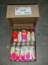 Lot Maco 4 Color Neon Strung Merchandise Tags 5 1 332 X 34 Bb 304 Bb304