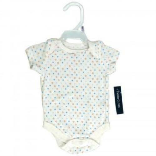 Heart Details about  /Faded Glory 2-Pack Organic Cotton Newborn Baby Girl Short Sleeve Bodysuit