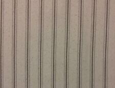 "BALLARD DESIGNS VINTAGE TICKING SANDALWOOD MULTIPURPOSE FABRIC BY THE YARD 56""W"