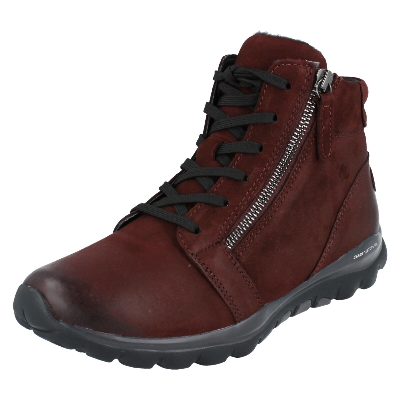 Ladies Gabor Rolling Soft Walking Boots - 96958