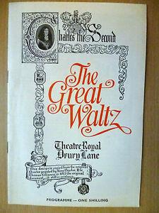 1969-Theatre-Royal-Drury-Lane-Programme-THE-GREAT-WALTZ-by-Jerome-Chodorov