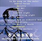 Barber: Collected Choral Works (CD, Aug-2012, Terpsichore (Classical))