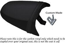 CARBON FIBRE VINYL CUSTOM FITS TRIUMPH SPEED TRIPLE 97-01 955 i REAR SEAT COVER