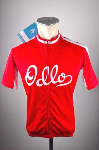 S Zip Stand-up MTB Bike CYCLING jersey Fahrrad Shirt ODLO Herren Rad Trikot Gr