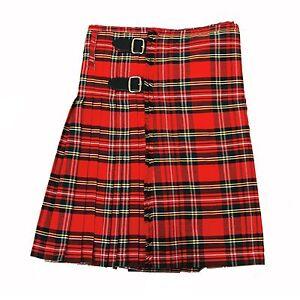 by mmb scottish kilt highland kilt tartan pattern red