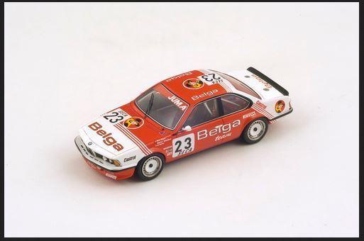 BMW 635 CSI - Juma-Belga - Winkelhock Regout Gartner - 24h Spa 1985 Spark
