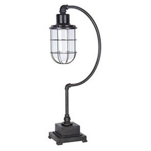 Signature Design by Ashley L734232 Jae Metal Desk Lamp Antique Black
