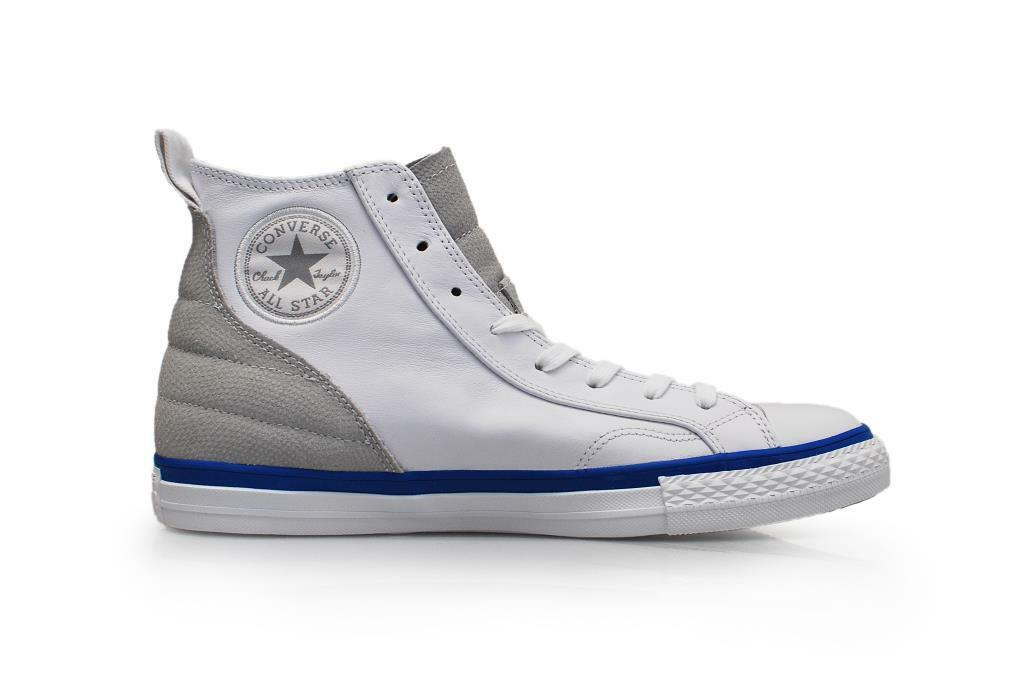 Unisex Converse CT Lucky HI - 148637C - White Blue Trainers