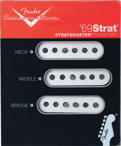 Fender Custom Shop '69 Strat Pickup Set of 3 Brand New USA Made Stratocaster USA