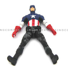 Xmas Gift 3.75'' Mini Hasbro Marvel Universe Captain America Action Figure FK567