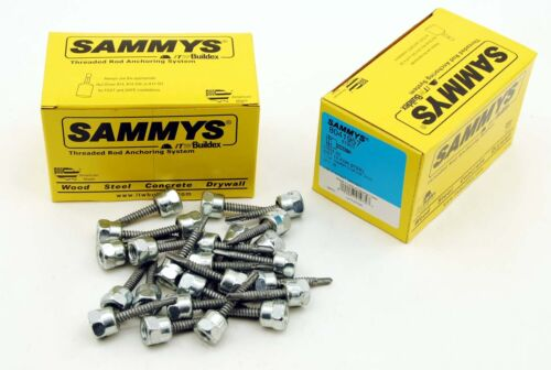 25 Sammys 3816 x 112 Threaded Rod Hanger for Steel 8041957 SelfDrilling