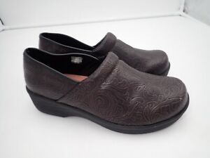SafeTStep-Women-039-s-Clogs-Brown-size-9-M