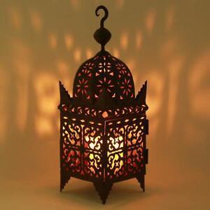 Eisen Laterne Firyal Höhe 50 Cm Orientalische Eisenlaterne Marokko
