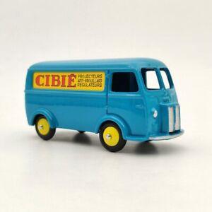1-43-Atlas-Dinky-Toys-25BV-Fourgon-Postal-Peugeot-D-3-A-Blue-Diecast-Models