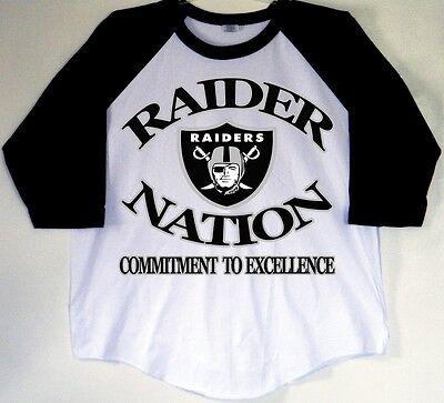 Gray Raider Nation Baseball Tees Raglan Black 2XL//3XL S // M // L // XL