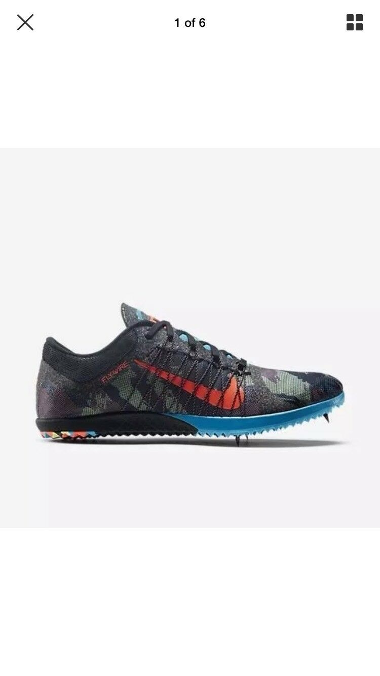 Nike Victory XC 3 Camo Hot Lava Track X Country Shoes Mens 4.5 Wmns 6 654693-084 Great discount