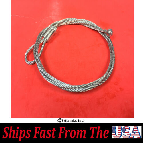 Original Ryan Aerator Parts # 547445 Clutch Cable For Old Ryan Aerator