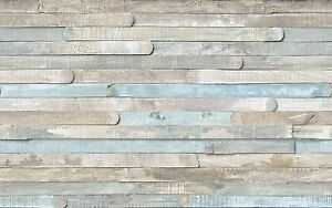 Image Is Loading Self Adhesive Vinyl Beach Wood Contact Paper Wall