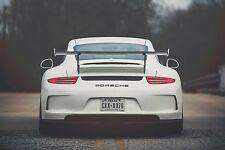 PORSCHE Flexible Lettering Emblem 911, Carrera, GT3, Macan, Cayenne, 981 Cayman