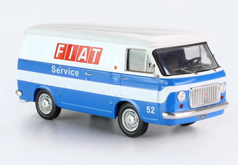 Fiat 238 VAN Fiat Service 1971  1 43 CLC300 Ixo Models