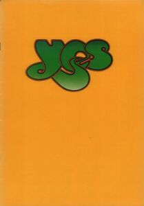 YES 1974 AMERICAN WINTER RELAYER TOUR PROGRAM BOOK / JON ANDERSON / EX 2 NMT