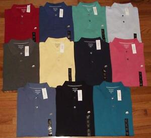 06f1b701b91f0a NWT NEW Mens Banana Republic Pique Polo Shirt Elephant Logo Choice ...