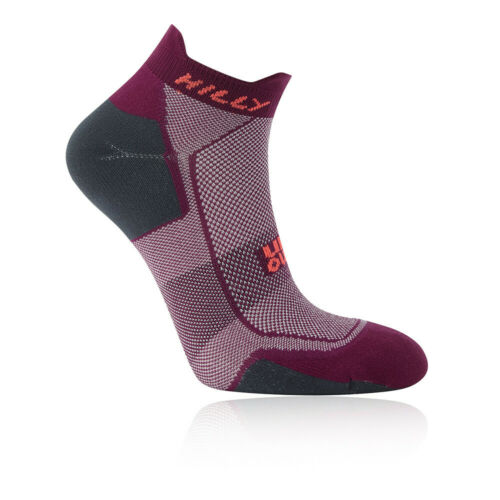 Hilly Womens Pace Socklet Running Socks Purple Sports Breathable Lightweight